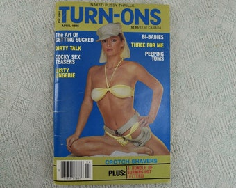 Turn-Ons Magazine April 1990