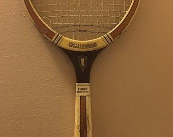 Vintage Pinquin Challenger Tennis Racket
