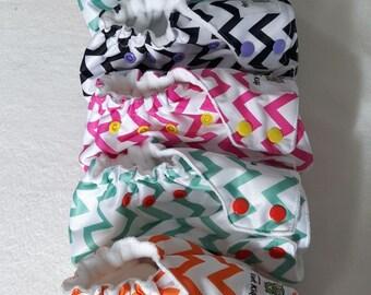 Cloth diapers - herringbone