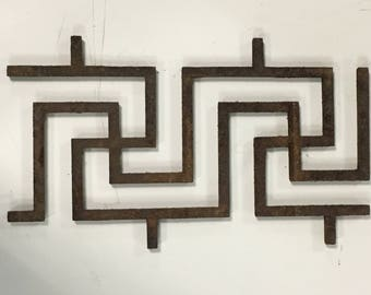 Wrought Iron Wall Decoration