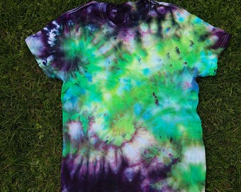 One of a Kind Tie Dye/Ice dye Tshirt