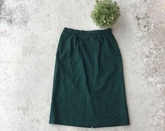 Vintage Pendleton Wool Pocket Skirt