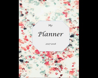 Cute weekly planner (letter size)