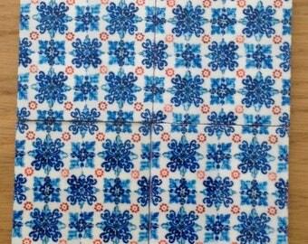 Replica of Portuguese tile