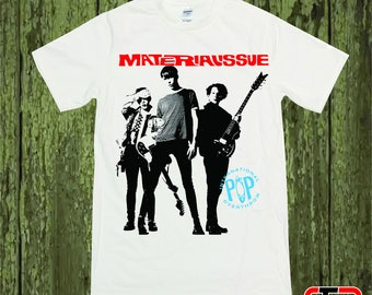 Material Issue International Pop T shirt vintage design