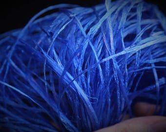 Flat Knot Yarn - Color: Blue - 80g