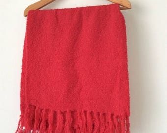Peru Alpaca shawl, hand-made