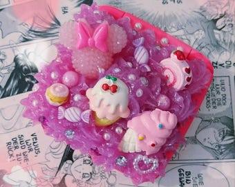Kawaii bag mirror decoding sweets candy