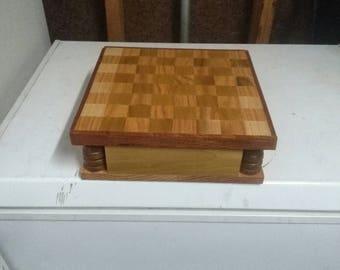 Hand made chess board
