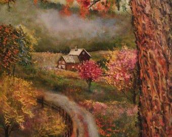 Autumn Enchantment At Sleepy Hollow Farm , Vermont