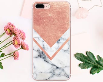 Geometric iPhone 7 Case Clear iPhone 5S Case iPhone SE Case Marble iPhone 6 Plus iPhone 6S Case Transparent iPhone 6 Phone iPhone 5 CA_004