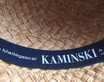 Kaminski Australia 100% Raffia Sun Hat Made in Madagascar