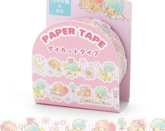 Little Twin Stars KIKILALA Masking Tape Washi Tape Paper Craft SANRIO from Japan 5M