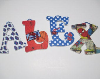 Spider-man letters