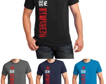 Be Different T shirt Gym Exercise MMA Motivational 8 Colors Men Tee Top Gift S-5XL