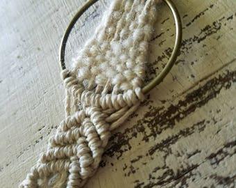 Macrame Jewelry - Macrame Necklace - Macrame Accessories - Tassel Necklace - Boho Necklace - Bohemian Necklace - Boho Jewelry - Bohemian