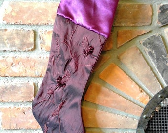 Unique Christmas stocking 040