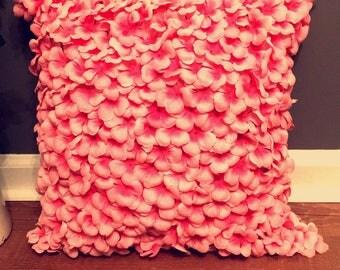 Flower Pillow-pink