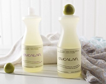 Eucalan Wool Wash 100 ml/ 3.3 oz - Wool Soak - Unperfumed - Bocking Soak - Wool Wash - Ready to Ship