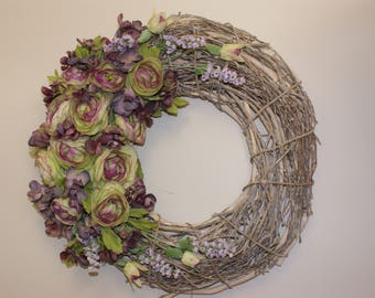 All Seasons Rustic Wreath
