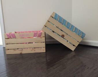 Baby Shower Crates (option 2)