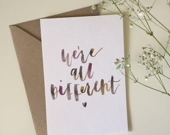 Personalised Celebration Greeting Card