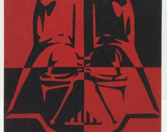 Darth Vader painting