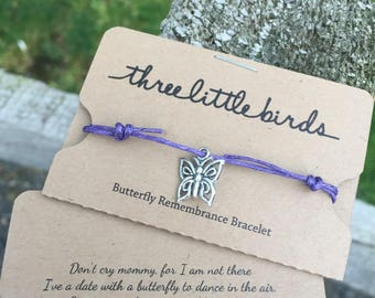 Three Little Birds Perinatal Miscarriage Remembrance Bracelet