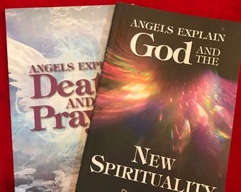 Angelic Transcriptions books, set of two