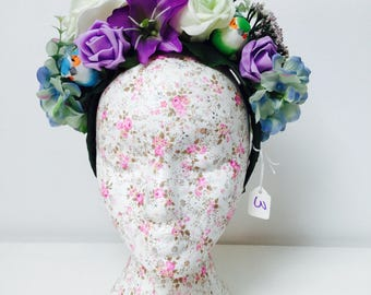 Beautiful Flower and Birdie Head Piece