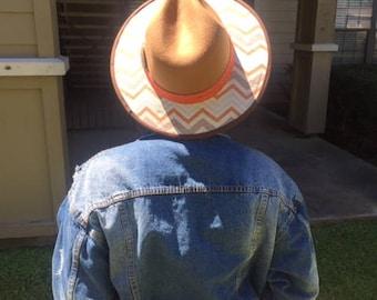 Customized Wide Brim Hat/Fedora