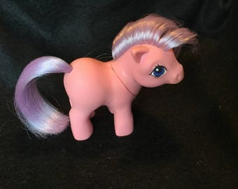My little pony G1 baby ember pink