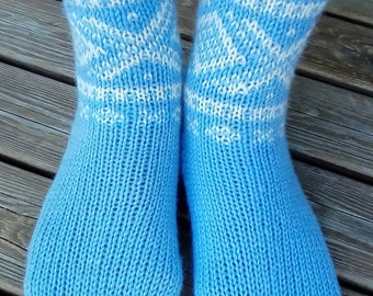 Knitted Marius Wool Socks