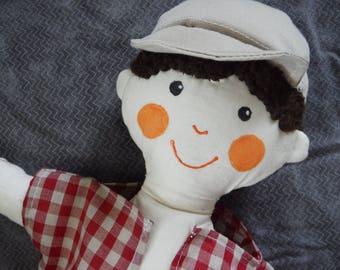 Handmade Doll, Boy Rag Doll