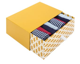 The Hathern Gift Box | 4 pairs of men's luxury crew socks by seriouslysillysocks