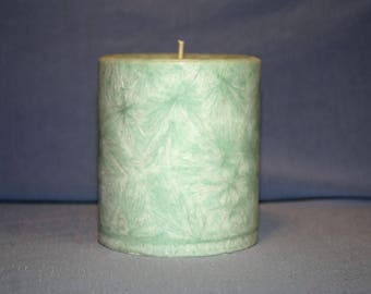 """3x3"""" round candle"""