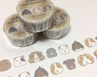 Guinea pig Decoration tape