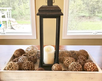 Wood Lantern - Wedding Lantern - Rustic Lantern - Wedding Decor - Wedding Decorations - Rustic Wedding - Rustic Home Decor - Farmhouse Decor