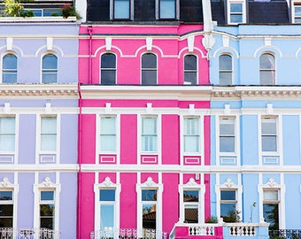 Notting Hill Photography, London City Wall Art, Notting Hill Photo Print, Romantic London Photography, London Style Photo Prints