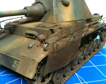 Pro Built CMK 1/35th Panzer IV with Panther Schmalturm Turret