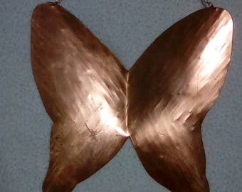 Handmade Copper Butterfly Hanging