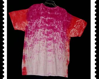 Adult sized 2XL/2XG/2TG, tie dyed crew neck  is so brilliantly colored and totally awesome.
