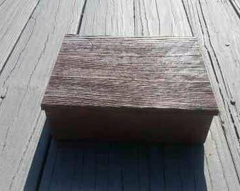 Gray Barn Wood Box