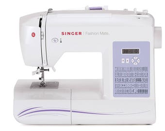 Singer 5500 Fashion Mate Sewing Machine-Automatic features to make sewing easy - Refurbished