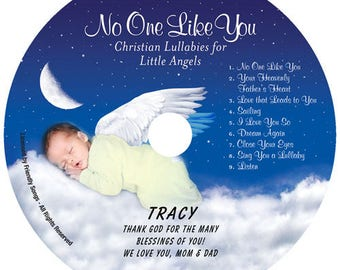 Personalized children's music CD - Your Child's Name in the song! No One Like You Lullabies