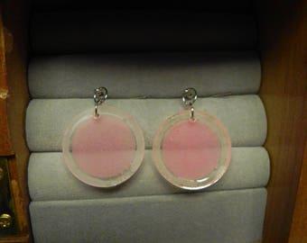 Glowing Circle Earrings