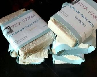 Goat Milk Soap. Handmade.