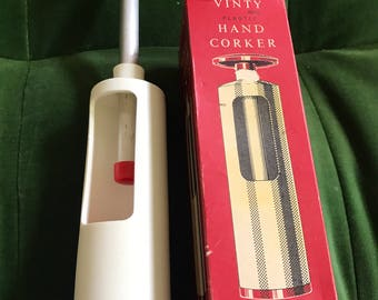 Vintage Vanity Pastic Hand Corker