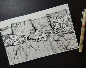 Customizable Pet Drawing