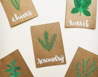 Herb Prints